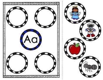 Alphabet Match Mats (Matching beginning sounds to the letter)