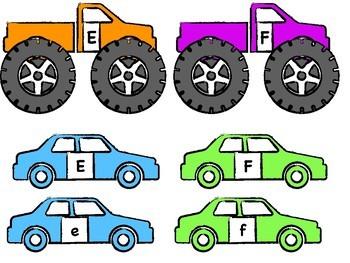 Alphabet Match: Monster Truck Alphabet Crush