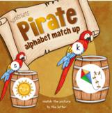 Alphabet Match (Pirate theme)