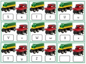 "Alphabet Match Puzzles ""Old Tracks, New Tricks"""