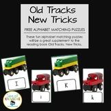 "Alphabet Match Puzzles ""Old Tracks, New Tricks"""