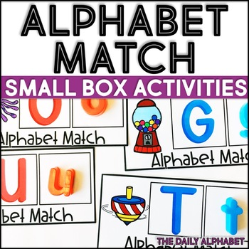 Alphabet Match: Small Box Activities