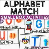 Alphabet Match: Small Box Activities