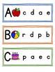 Alphabet Match Strips