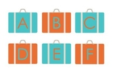 Alphabet Match - Travel Theme