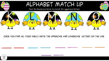 Alphabet Match UP- Lowercase and Uppercase