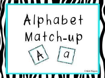 Alphabet Match-Up