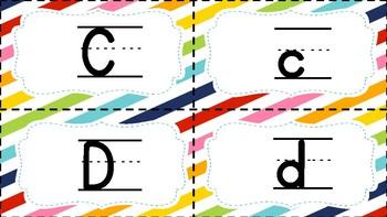 Alphabet Match Up