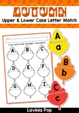 Autumn / Fall Center Upper and Lower Case Letter Match