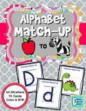 Alphabet Match-Up Cards