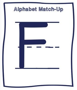 Alphabet Match-Up Cards