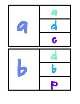Alphabet Match Up Clip Cards Bundle!! 52 pages!! A-Z a-z A