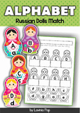 Alphabet Match - Russian Nesting Dolls