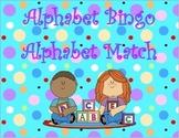 Alphabet Match and Bingo