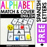 Alphabet Match and Cover