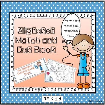 Alphabet Match and Dab Book