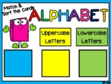 Alphabet Match and Sorting Station