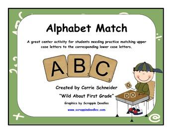 Alphabet Match-ups