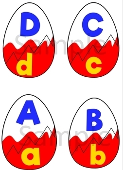 Suprise Egg ABC's Match