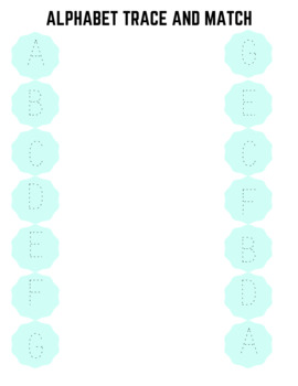 Alphabet Matching (28 pages)