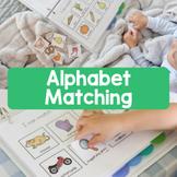 Alphabet Matching - PreK Activities