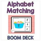Alphabet Matching BOOM™️ Cards: Matching Capitals and Lowercase Letters