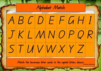 Alphabet Matching Boards
