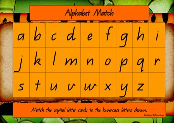 Alphabet Matching Boards