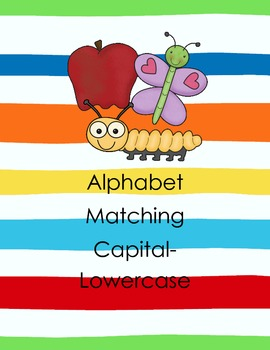 Alphabet Matching - Capital and Lowercase