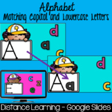 Distance Learning - Alphabet - Matching Capital and Lowercase Letters