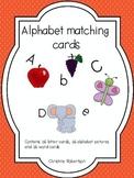 Alphabet Matching Cards