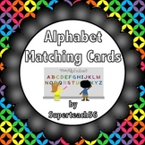 Alphabet Matching Cards FREEBIE
