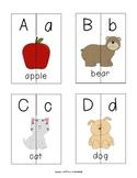 Alphabet Matching Cards Print
