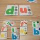 Alphabet Matching Clip Cards