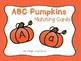 Alphabet Identification Clip Cards - Pumpkin Version