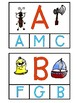 Alphabet Matching Clip Cards (Reading Center)