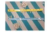 Alphabet Matching Clothespin Activity