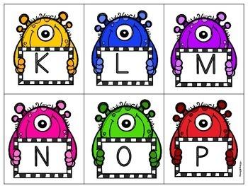 Halloween Alphabet Matching Game