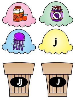 Alphabet Center Activities and Beginning Sound Worksheets