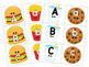 Alphabet Matching Game with Letter Trains