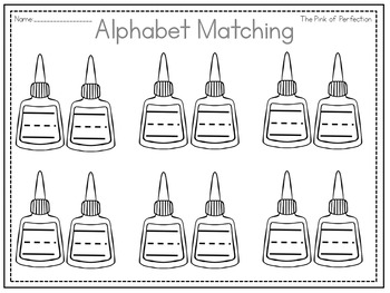 Alphabet Matching Games