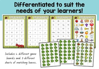 Bug Themed Phonics Board Games - Alphabet Revision