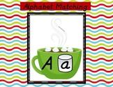 Alphabet Matching Center- Winter Theme