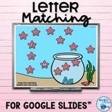 Alphabet Matching | Letter Match for Google Slides™ | Lett