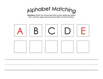 Alphabet Matching Mats