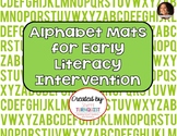 Alphabet Matching Mats - A Multisensory Activity for Learning Letters