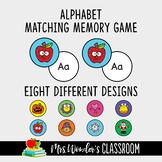 Alphabet Matching Memory Game, Letter Matching Game, Alphabet Game, Literacy
