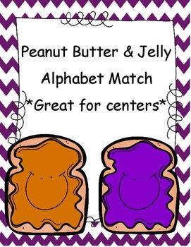 Alphabet Matching PB&J