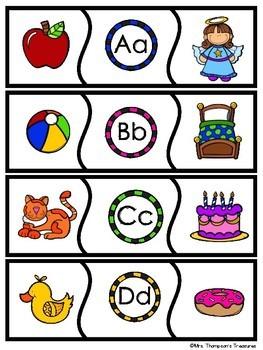 Alphabet Matching Puzzles