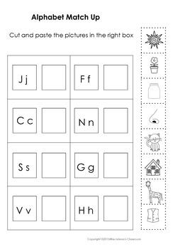 Alphabet Matching Set